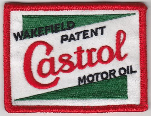 Castrol Wakefield Green/White Embroidered Patch