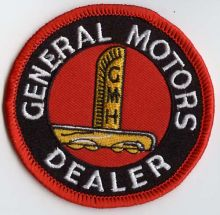 General Motors Dealer Patch