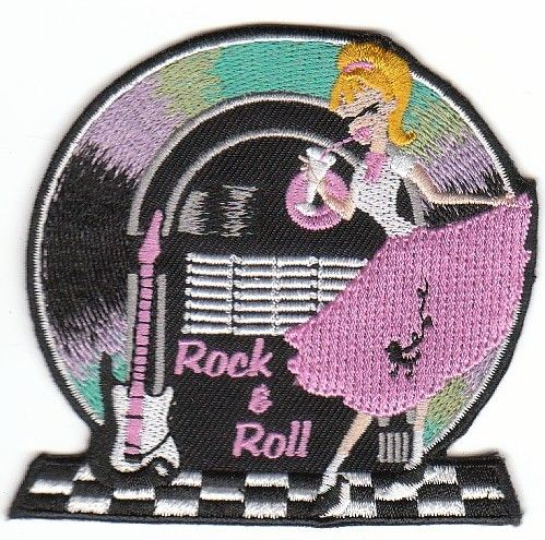Rock&Roll Juke Box Patch