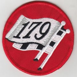 Holden 179 Flag Round Embroidered patch