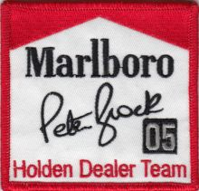 Peter Brock Signature 05 Patch