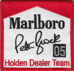 Peter Brock Marlboro 05 Patch