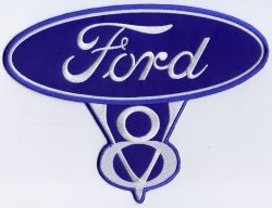 Ford Classic V8 Back Patch