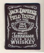 Jack Daniels Label Patch