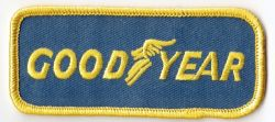 Goodyear Embroidered Patch