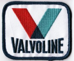 Valvoline Embroidered Patch