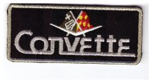 Corvette Gold Oblong Patch