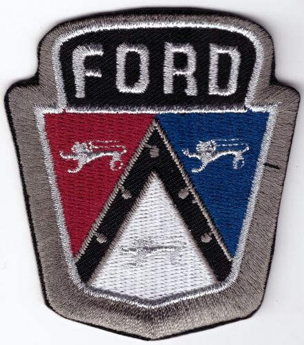 Ford Bonnet Emblem Embroidered Patch