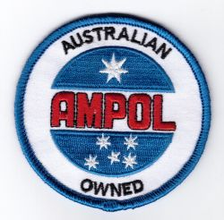 Ampol Owned Round Patch
