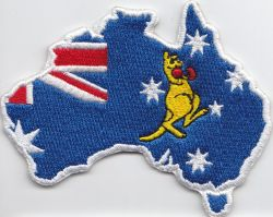 Australian Boxing Kangaroo Patch