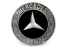 Mercedes Round Belt Buckle