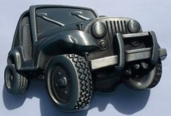 4 X 4 Jeep Belt Buckle