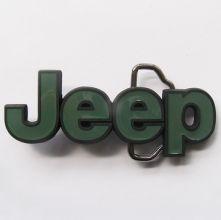 Jeep Green 4X4 Belt Buckle