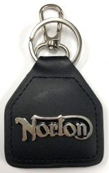Norton Leather Keyring