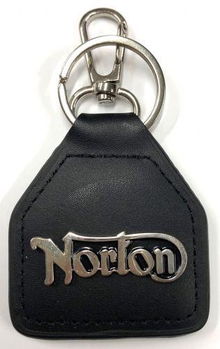 Norton Leather Keyring