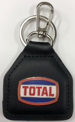 Total Retro Genuine Leather Keyring/Fob