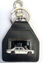 HZ GMH Holden Lion Genuine leather Keyring/Fob
