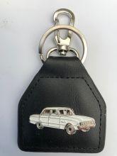 XL/XM Ford Sedan Early Girl Genuine Leather Keyring/Fob