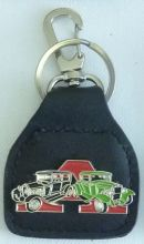 Ford Model A Black/Green Keyring