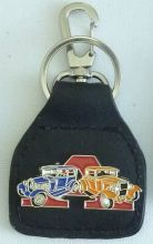 Ford Model A Blue/Orange Keyring