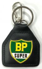 BP Super Genuine Leather Keyring/Fob