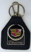 Cadillac Genuine Leather Keyring/Keyfob