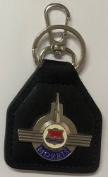 Morris Bonnet Genuine Leather Keyring/Fob
