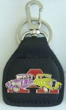 Ford Model A Purple/Yellow Keyring