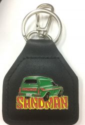 Holden Sandman Genuine Leather Keyring/fob