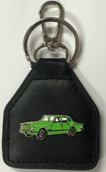 Valiant S Series genuine Leather Keyring/fob
