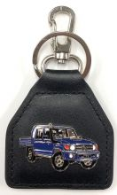 Landcruiser 70 Series Double Cab Genuine Leather Keyring/Fob