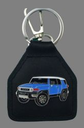 Toyota FJ Landcruiser Genuine Leather Keyring/Keyfob