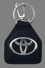 Toyota Logo Genuine Leather Keyring/Fob