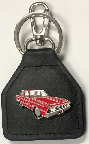 Valiant VG Genuine Leather Keyring/Fob