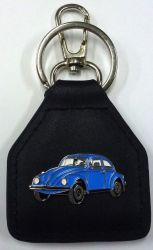 VW Late Model Keyring/Keyfob Genuine Leather