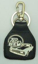 Valiant Pacer Hemi Genuine Leather Keyring/Fob