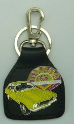 Torana when you're Hot Keyring