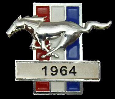Ford Mustang Year Badge/Lapel Pin
