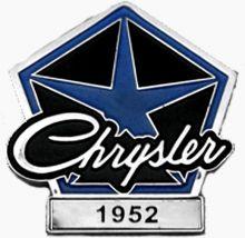 Chrysler Year Badge/Lapel Pin