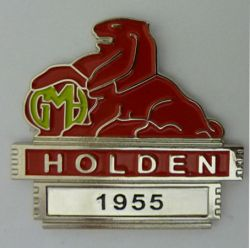 Holden Year Badge