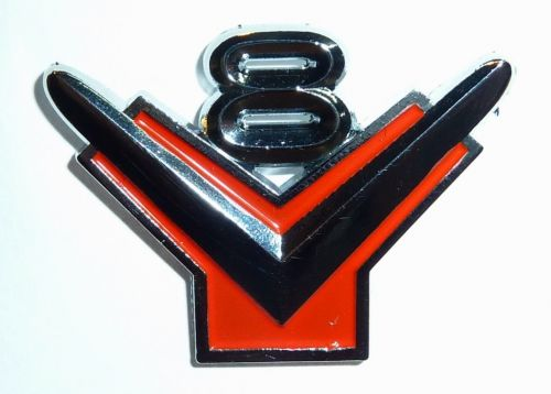 Y block V8 Badge