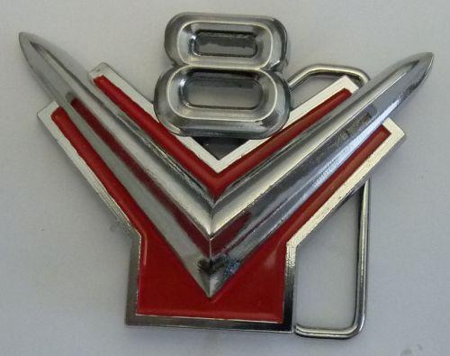 V8 Belt Buckle