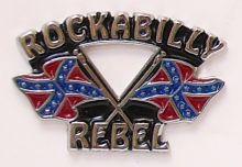 Rockabilly Badge
