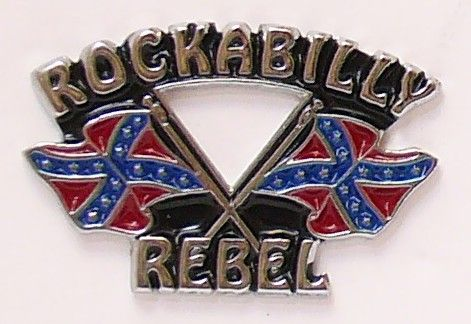 Rockabilly Badge
