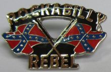 Rockabilly Epoxy Badge