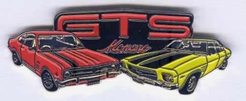 Holden Monaro HQ/HK Duo Badge