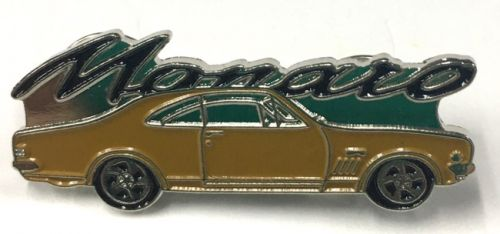 Monaro Car Badge/Lapel-pin 6 colour Options