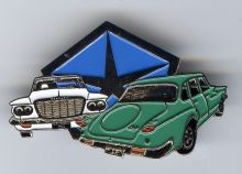 Chrysler R/S Series Valiant Lapel Pin / Badge