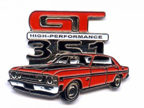 Ford Falcon 351 GTHO Badge