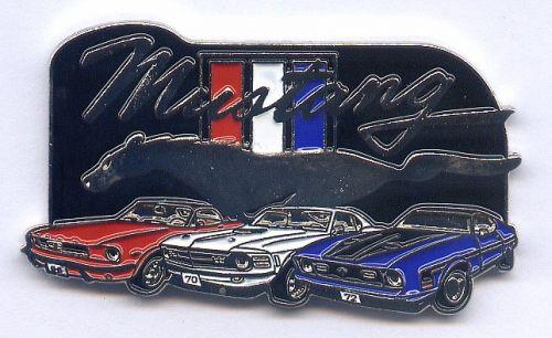 Mustang 65-72 Badge